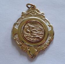 Vintage Swimming Medal Medallion Prize (c)