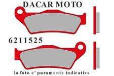 6211525 COPPIA PASTIGLIE ANTERIORI MALOSSI GILERA GP 800 4T LC (PIAGGIO M554M)