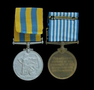 Queen's Korea & United Nations Korea Medal Pair, Royal Artillery