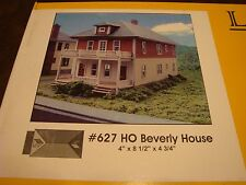 Model Railroad Building Laser Kit (Beverly House) HO scale by Branchline #627