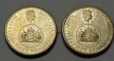 2016 changeover LOW MINTAGE$1 COINS x2,