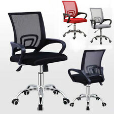 More details for ergonomic mesh office home chair adjustable executive swivel computer chair uk
