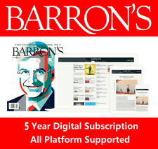 Barron's 5-Year Digital Subscription All Platforms Fast Delivery Region Free
