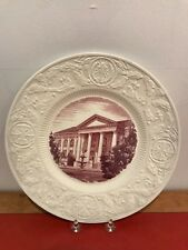 "Wedgwood Etruria Creamware ""Duke University"" (Mulberry) 1937 Collector Plates"