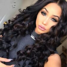300g/3bundles virgin peruvian loose wave human hair 16inches uk