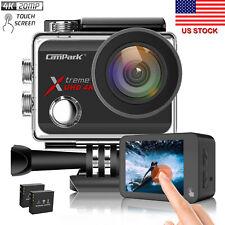 Campark X30 True 4K Action Camera 20MP Touch Screen WiFi Sport Camera Waterproof