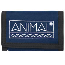 ANIMAL MENS WALLET.NEW SIDETRACK BLUE COIN CREDIT CARD MONEY CASH PURSE 8S 13 F9