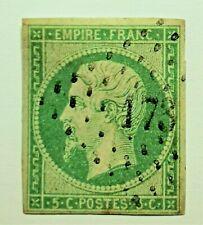 MARCOPHILIE ! Empire non dent. N° 12  (TB 1334-2) oblit Los.,Cote 235, TB+