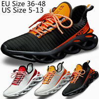 Men's New Sneakers Sports Athletic Hiking Gym Running Casual Shoes Outdoor Size