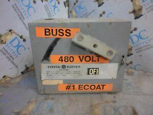 GENERAL ELECTRIC DE362R 3 P 60 A 600 V  FLEX-A-PLUG BUSS PLUG #2