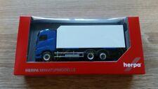 Herpa 307079 - 1/87 Volvo Fh Gl Kühlkoffer-lkw - Azul/Blanco - Nuevo