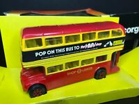 "Oxford Diecast RM32/032, ""Pop on this bus to HMV"", Routemaster Regent bus, 1:76"