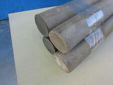 Ebonite rods - Hard dark brown, 4 pcs. - diameter of 40 mm. Length-300mm.