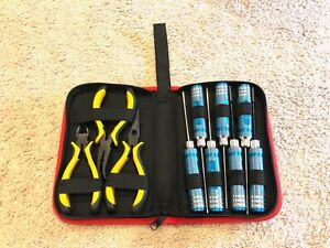 10 IN 1 RC Tool Kits Box Set Screwdriver Pliers Hex Repair for RC Helicopter Car