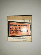 """Vintage Craftsman 4-1/2"""" Sanding Disc Kit for Grinder"""