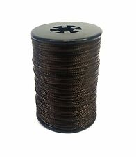 Dark Brown BCY Nock & Peep Bow String Serving Bowstring Nylon