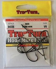 TruTurn 1/0 Bronze Worm Hooks - Ultra Sharp 7 Pack