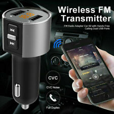 ANFAHR FM Transmitter Bluetooth Auto MP3 Player KFZ AUX USB Ladegerät Adapter