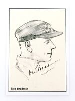 .SCARCE DON BRADMAN CARD. T F SPORTING COLLECTABLES, UK