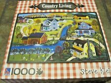 APPLE ORCHARD ~  1000 PC. PUZZLE FROM SURE LOX ~ ART, STEVE KLEIN ~ NEW, SEALED