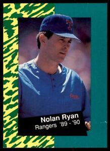 1991 Classic Nolan Ryan 10 #9 Nolan Ryan/Rangers '89-'90 *212