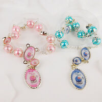 Baby Shower Favors Carriage Bracelets Bag Fillers Blue Pink Party Decorations 12