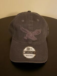 New Era 9TWENTY ADJUSTABLE CAP PHILADELPHIA EAGLES MONO GRAY BASEBALL DAD HAT