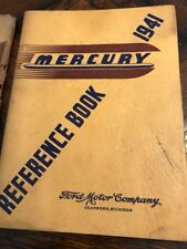 Vintage Official FORD Mercury REFERENCE Book * automotive mechanic car manual