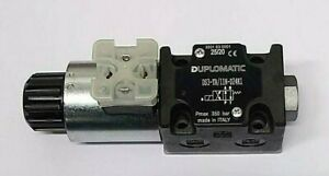 DUPLOMATIC DS3-TA/11N-D24K1 SOLENOID OPERATED DIRECTIONAL VALVE