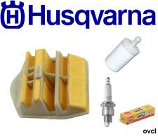 HUSQVARNA 445 E CHAINSAW SERVICE KIT AIR FILTER FUEL FILTER SPARK PLUG GENUINE