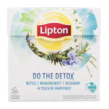 Lipton Tee 5 x 20 = 100 Pyramidebeutel Do The Detox