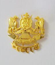 Antique Brooch Royal Indian Gold Paste (VERMEIL) Double Eagle Brooch Rare Unique