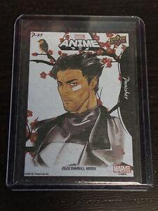 2020 Marvel Anime Hanafuda Punisher P-35
