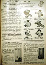 Carlin Company Water Heater ASBESTOS Cement Seals 1967 Ad