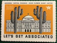 #160 - Arizona - Capital Phoenix - Let's Get Associated - Flying A Gas & Oil Co.