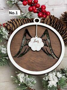 Personalized dog Christmas Ornament, Christmas Decor, Cat Memorial, Pet Love