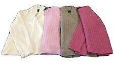 Lot of (4) Ralph Lauren Long Sleeve Sweaters Size S (cashmere, wool/Angora, lamb