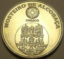 Gem Unc Silver Portugal 2006 5 Euros~Monestary Of Alcobaca~Free Shipping