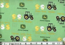 JOHN DEERE DUCK TRACTOR GREEN FABRIC CP54810