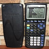 Texas Instruments TI-83 Plus Graphing Calculator - TESTED