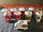 Starbucks Christmas Ornaments Lot of 10 2004~2016