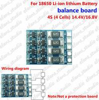 4S 4.2V Li-ion Lithium Battery Balancing Full Charge Balance Balancer Board New