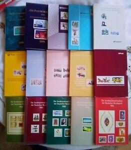 BRD  15 Jahrbücher mit allen Marken ** Top.
