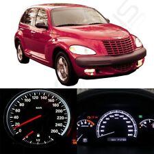 LED Kit Instrument Cluster White Lights Bulbs For 2001-2005 Chrysler PT Cruiser