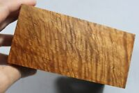 """#3252 5A Quilted Maple Wood Pen/Small Project Turning Blank 5.3""""x2.5""""x2.6"""""""