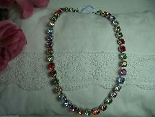 Runde Modeschmuck-Halsketten & -Anhänger im Collier-Stil aus Kristall mit Besondere Anlässe