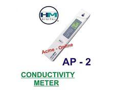 HM Digital AP-2 EC Conductivity Meter Tester Water Testing