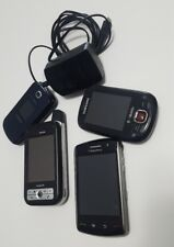 BlackBerry Storm 9530 Touch Camera Global Bluetooth VERIZON Smartphone lot of 4