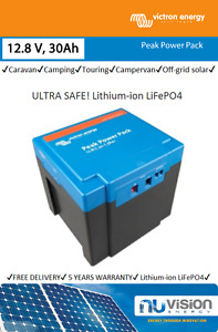 Peak Power Pack by Victron 12,8V/30Ah ULTRA SAFE Lithium-ion LiFePO4 Battery