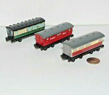 Ertl Thomas & Friends Railway Train Tank Passenger Car Lot x3 Coach Express Mail